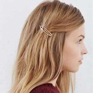 Urban Outfitters Clothing Safety Pin Hair Clip